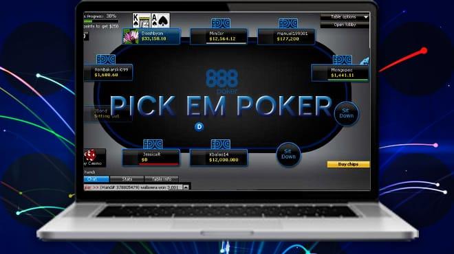 Pick Em Holdem новая игра от 888poker