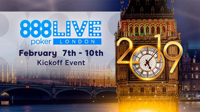 Серия живых турниров в Лондоне 888poker live