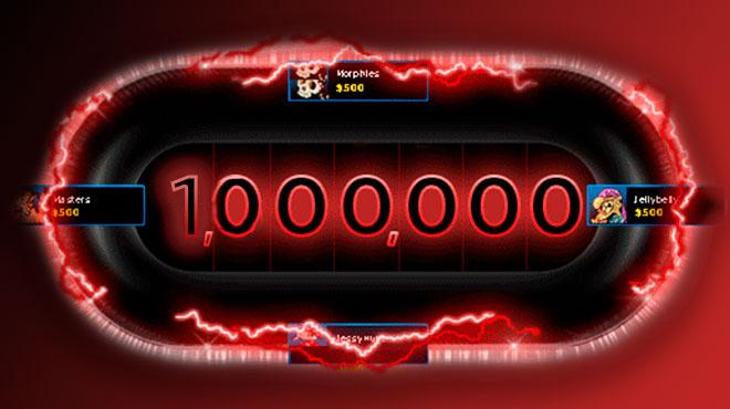 выигрыш одного миллиона в Blast 888poker