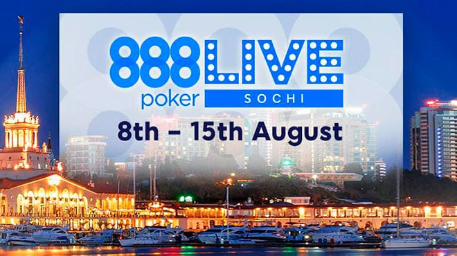 Живой турнир 888poker в Сочи