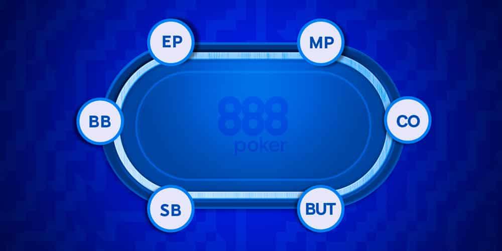 Покерные позиции: описание, особенности стратегии