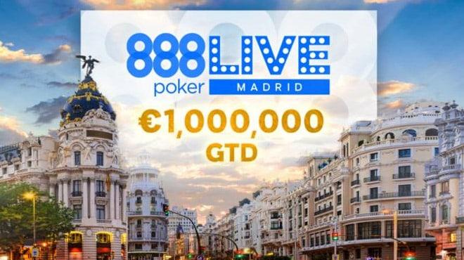 888poker live Madrid стартует 23 января