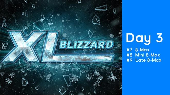 День 3 на Xl Blizzard