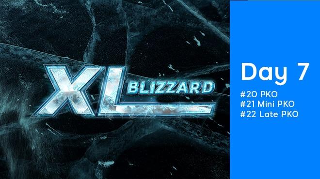 Седьмой день XL Blizzard 2020