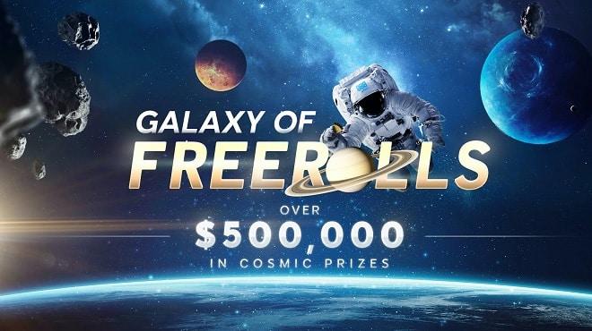 Galaxy of freerolls на 888poker всю весну