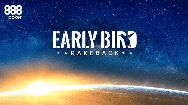"Акция ""Early Bird"" на 888покер"