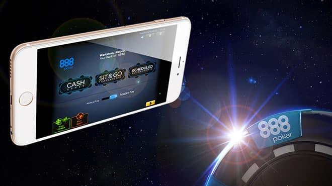 888 покер запустил новый мобильный клиент