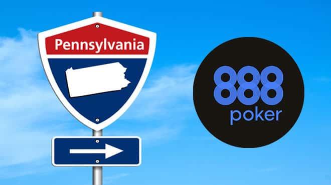 888poker goes to Pensylvania