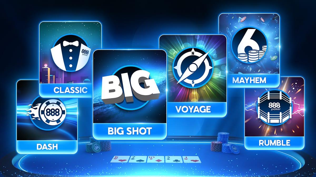 новые чемпионы турниров Big Shot на 888poker